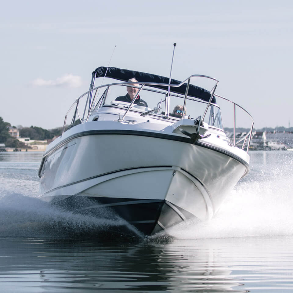 Lake Yard is the home of Boston Whaler UK