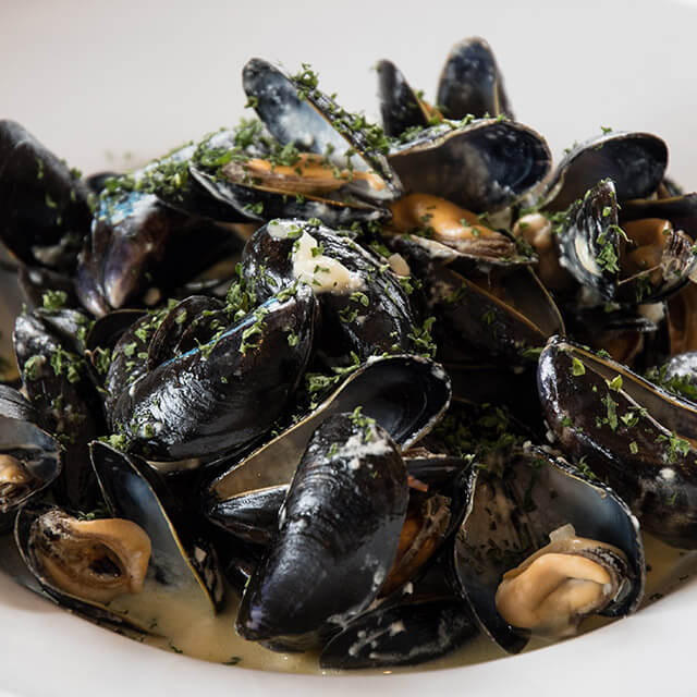 Lake Yard Mussels